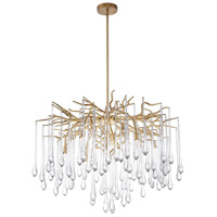 CWI Lighting 1094P26-6-620 Anita 6 Light 26 inch Gold Leaf Chandelier Ceiling Light