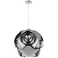 Kingsley 1 Light 15 inch Chrome Pendant Ceiling Light