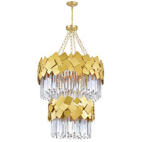 Medallion Gold Chandeliers