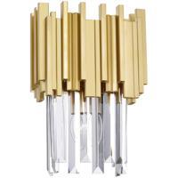 CWI Lighting 1112W8-1-169 Deco 1 Light 8 inch Medallion Gold Wall Light
