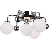 CWI Lighting 1125C16-4-613 Element 4 Light 16 inch Polished Nickel Flush Mount Ceiling Light