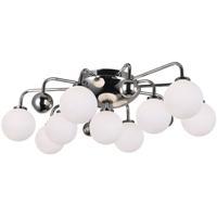 CWI Lighting 1125C24-9-613 Element 9 Light 16 inch Polished Nickel Flush Mount Ceiling Light