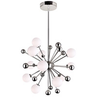 CWI Lighting 1125P24-11-613 Element 11 Light 24 inch Polished Nickel Chandelier Ceiling Light