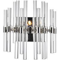 CWI Lighting 1137W10-1-613 Miroir 2 Light 10 inch Polished Nickel Wall Light