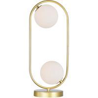 CWI Lighting 1212T8-2-169 Celeste 19 inch 5.00 watt Medallion Gold Table Lamp Portable Light