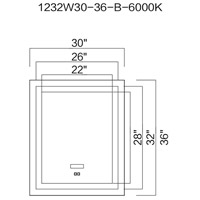 CWI Lighting Wall Mirrors