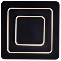 CWI Lighting 1238W9-101 Private I 9 inch Matte Black Wall Sconce Wall Light