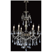 CWI Lighting Antique Brass Chandeliers