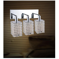 CWI Lighting Chrome Glitz Wall Sconces