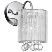 CWI Lighting 5006W5C-1-(S) Water Drop 1 Light 5 inch Chrome Wall Sconce Wall Light