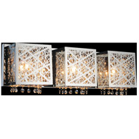 CWI Lighting 5008W23ST-S-3 Eternity 3 Light 23 inch Chrome Wall Sconce Wall Light