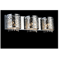 Eternity 3 Light 4 inch Chrome Wall Sconce Wall Light