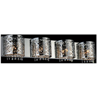 CWI Lighting 5008W34ST-R-4 Eternity 4 Light 4 inch Chrome Wall Sconce Wall Light