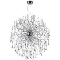 Cherry Blossom 48 Light 47 inch Chrome Chandelier Ceiling Light