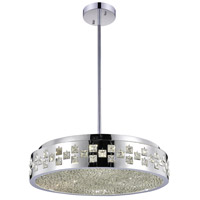 CWI Lighting 5073P20C Cinderella 6 Light 20 inch Chrome Chandelier Ceiling Light