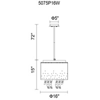 CWI Lighting Black Palstic Chandeliers