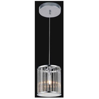 Wyatt 1 Light 6 inch Chrome Chandelier Ceiling Light