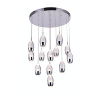 Perrier 13 Light 24 inch Chrome Chandelier Ceiling Light