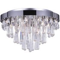 CWI Lighting 5078C20C Vast 8 Light 20 inch Chrome Flush Mount Ceiling Light