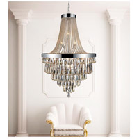 CWI Lighting 5078P32C-(COGNAC) Vast 17 Light 32 inch Chrome Chandelier Ceiling Light