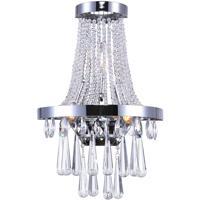 CWI Lighting 5078W12C Vast 3 Light 12 inch Chrome Wall Sconce Wall Light