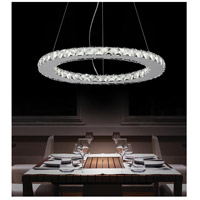CWI Lighting Chrome Metal Ring Chandeliers