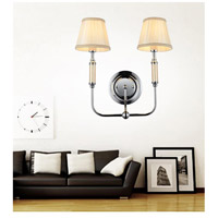 Adore 2 Light 16 inch Chrome Wall Sconce Wall Light