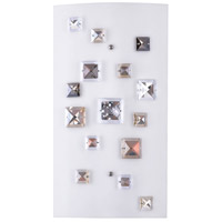 White Crystal Wall Sconces