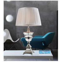 Yale 28 inch 60 watt Silver Table Lamp Portable Light