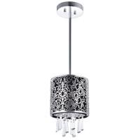 CWI Lighting 5318P6ST-(BLACK) Tresemme 1 Light 6 inch Satin Nickel Pendant Ceiling Light