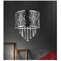 Satin Nickel Fabric Wall Sconces