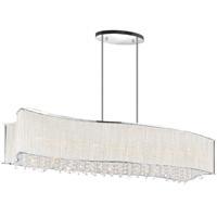CWI Lighting 5320P36C-RC Elsa 8 Light 36 inch Chrome Chandelier Ceiling Light