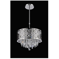 CWI Lighting 5430P12ST-R Galant 3 Light 12 inch Chrome Pendant Ceiling Light