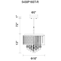 CWI Lighting Metal Galant Chandeliers