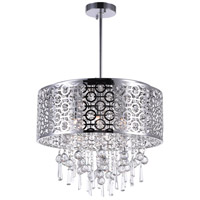 CWI Lighting Stainless Steel Chandeliers