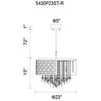 CWI Lighting Galant Chandeliers