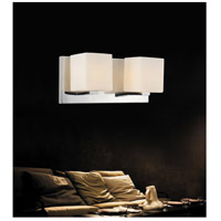 CWI Lighting 5442W12SN Satin Nickle 2 Light 5 inch Satin Nickel Vanity Light Wall Light