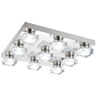 CWI Lighting 5445C20C-S Paulina LED 20 inch Chrome Flush Mount Ceiling Light