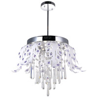 Frost LED 17 inch Chrome Chandelier Ceiling Light