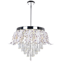 Frost LED 20 inch Chrome Chandelier Ceiling Light