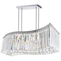 Celeste LED 30 inch Chrome Chandelier Ceiling Light