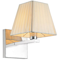 CWI Lighting 5456W6C-1 Tilly 1 Light 8 inch Chrome Wall Light