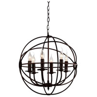 Brown Metal Arza Chandeliers
