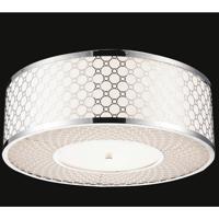 CWI Lighting 5504C16ST Swiss 4 Light 16 inch Stainless Steel Flush Mount Ceiling Light