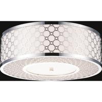 CWI Lighting 5504C22ST Swiss 5 Light 22 inch Stainless Steel Flush Mount Ceiling Light