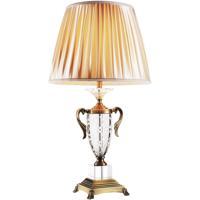 CWI Lighting 5508T15AB Yale 27 inch 60 watt Antique Brass Table Lamp Portable Light
