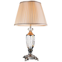 CWI Lighting 5509T16BN Yale 27 inch 60 watt Brushed Nickel Table Lamp Portable Light