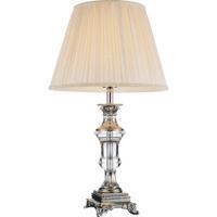 CWI Lighting 5511T14BN Yale 25 inch 60 watt Brushed Nickel Table Lamp Portable Light