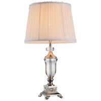 Yale 20 inch 60 watt Brushed Nickel Table Lamp Portable Light