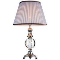 Yale 26 inch 60 watt Brushed Nickel Table Lamp Portable Light